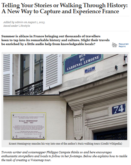 French news online screenshot