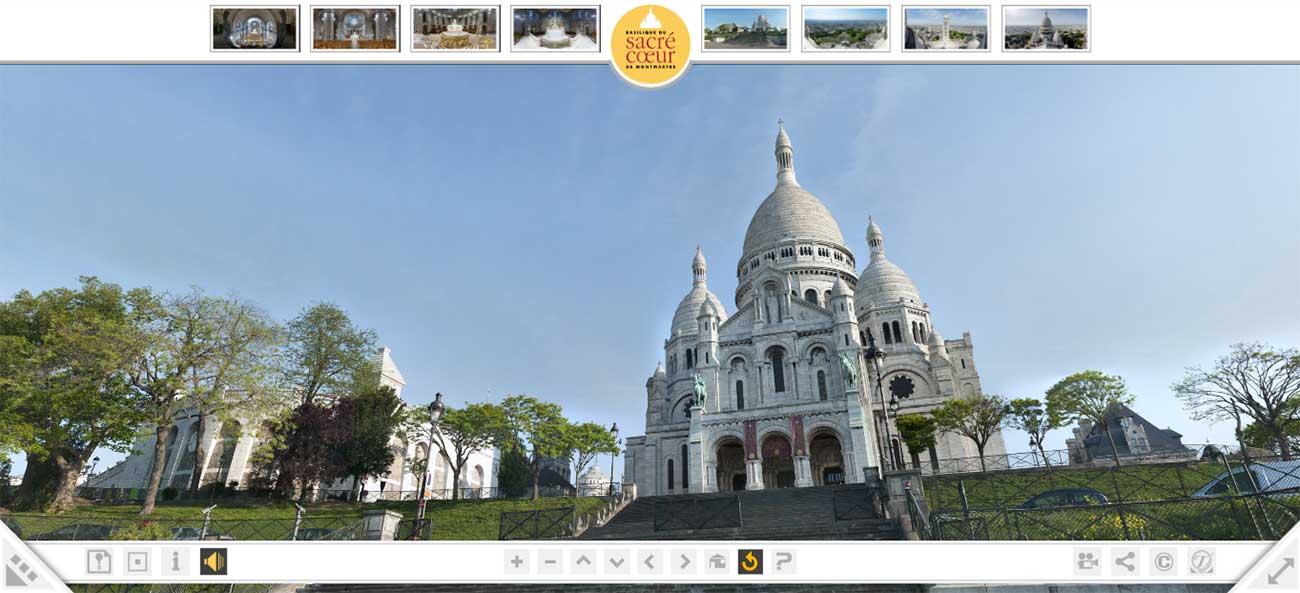 Sacre Coeur Virtual Tour